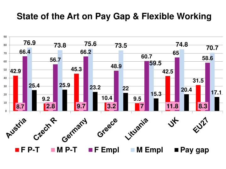 State of the Art on Pay Gap & Flexible Working