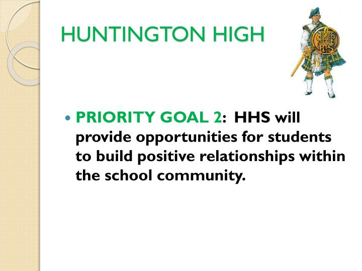 HUNTINGTON HIGH