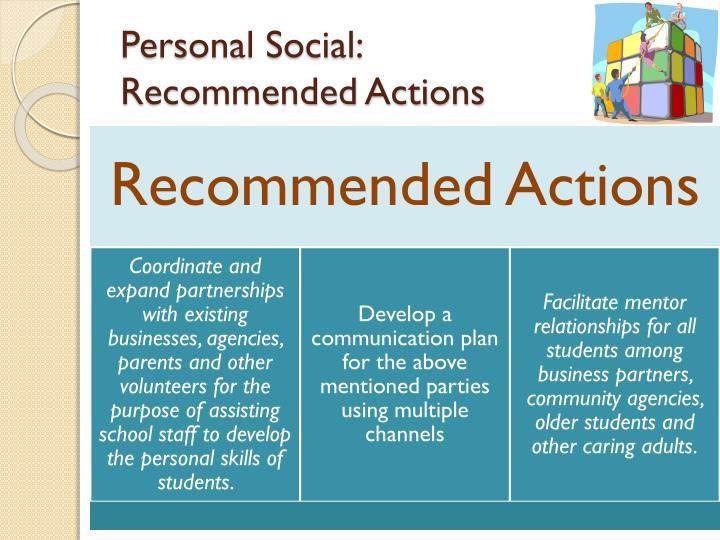 Personal Social: