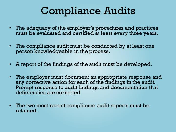 Compliance Audits