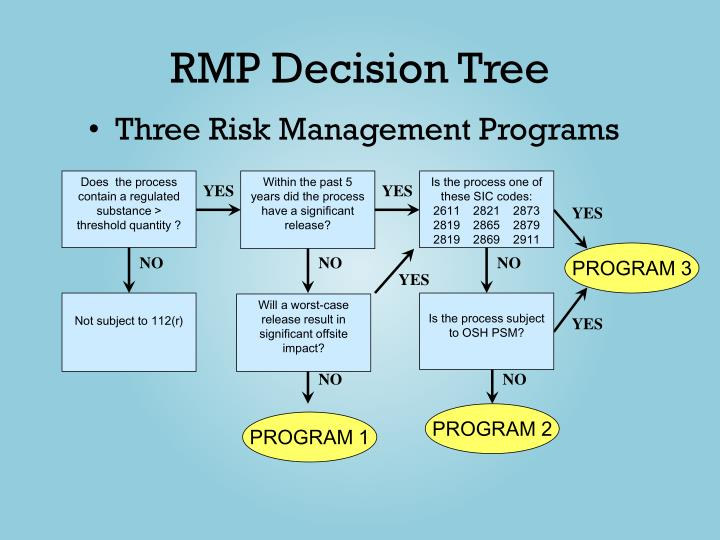 RMP Decision Tree