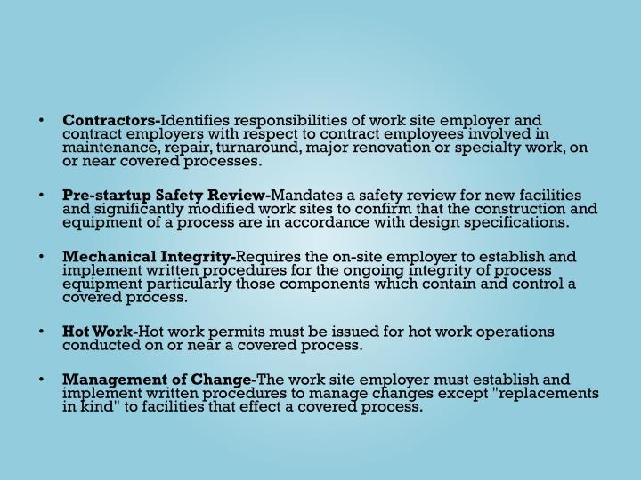 Contractors-
