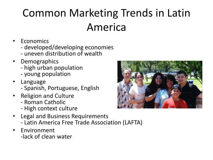 Common Marketing Trends in Latin America