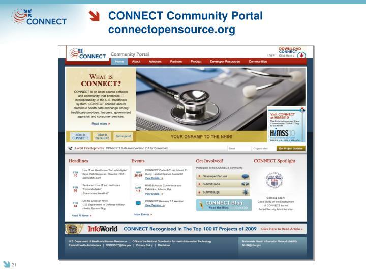 CONNECT Community Portal