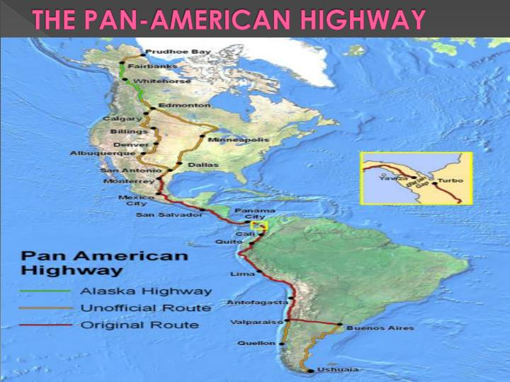 THE PAN-AMERICAN HIGHWAY