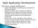 agile application development cont3