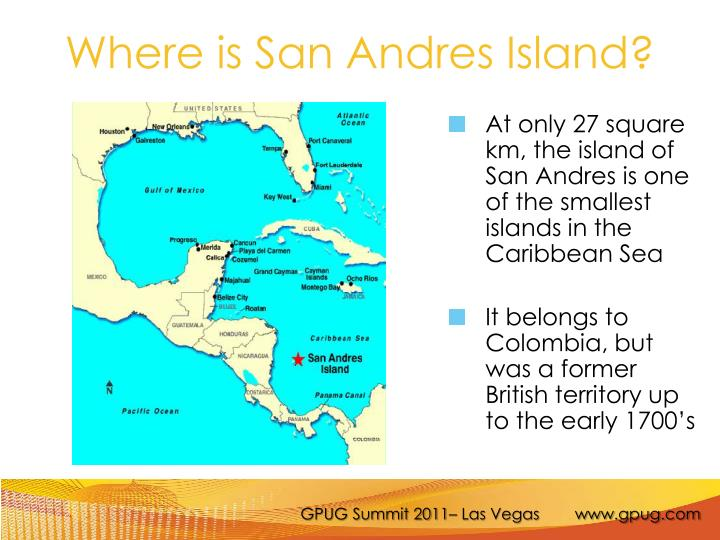Where is san andres island