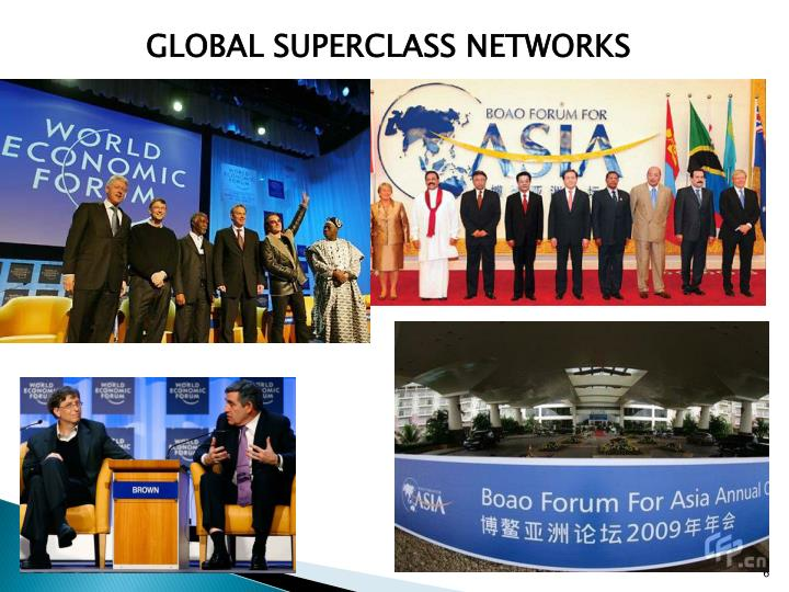 GLOBAL SUPERCLASS NETWORKS