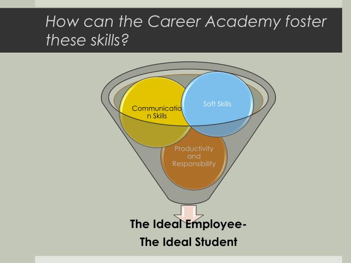 How can the Career Academy foster these skills?