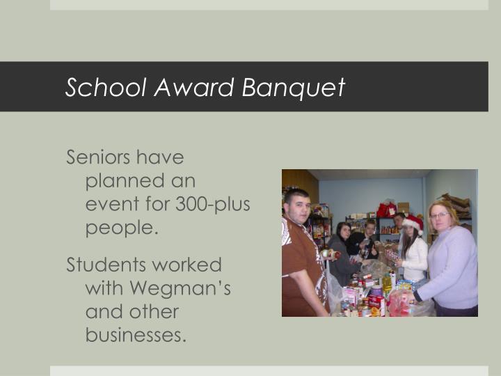 School Award Banquet