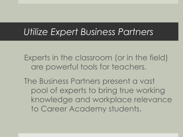 Utilize Expert Business Partners