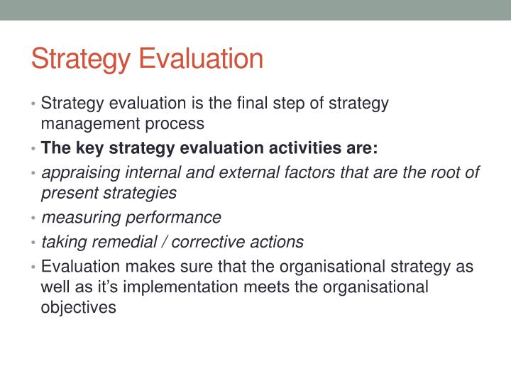 evaluate strategies which may be used by businesses essay Module 12: evaluation techniques page 103 some of the evaluation strategies listed can be conducted poorly written items may evaluate a student's reading.