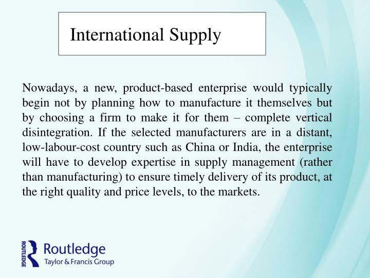 International Supply