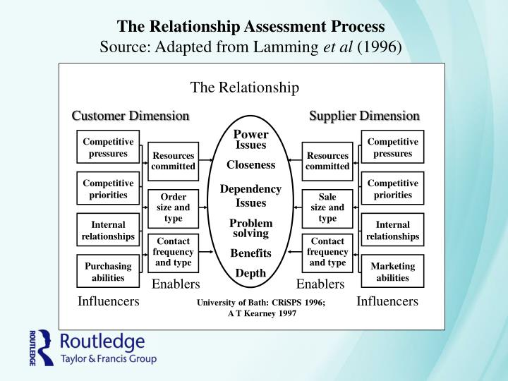 The Relationship Assessment Process