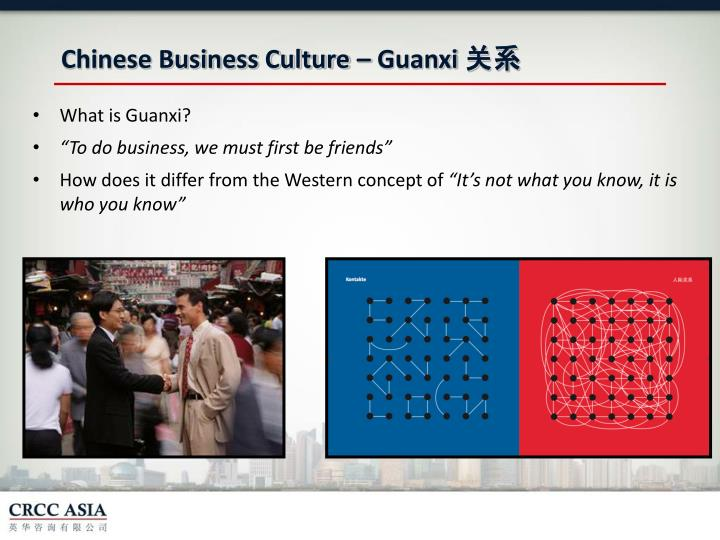 Chinese Business Culture –
