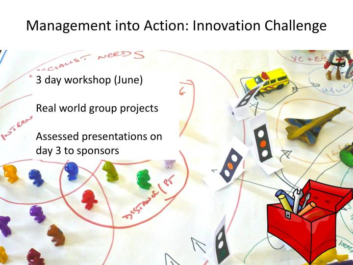 Management into Action: Innovation Challenge