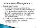 maintenance management cont3