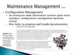 maintenance management cont4