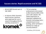 success stories rapid ascension and vc