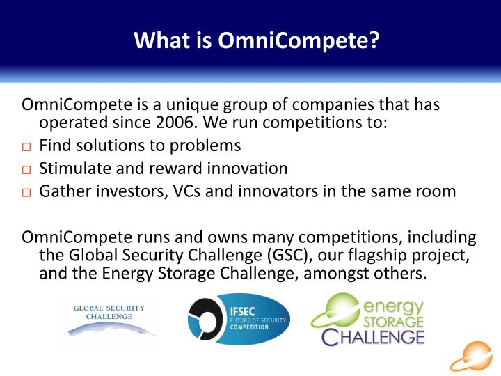 What is OmniCompete?