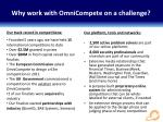 why work with omnicompete on a challenge