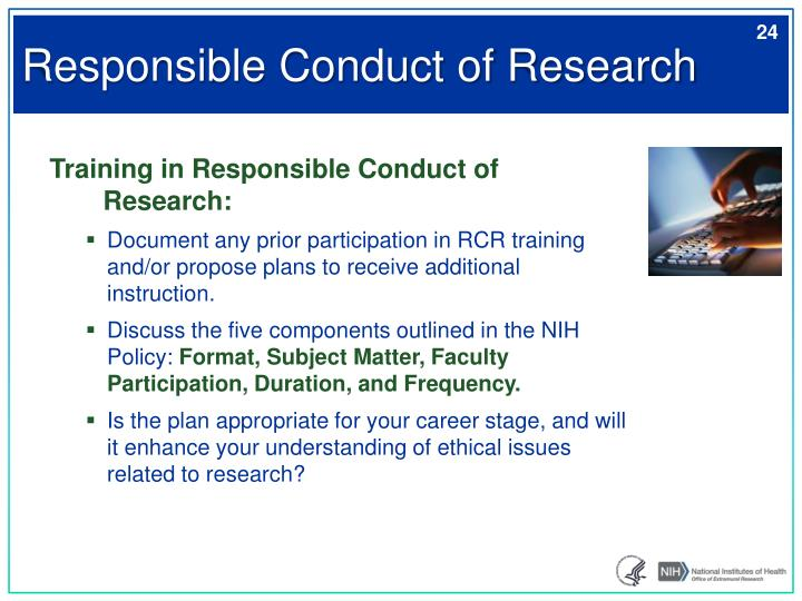 Responsible Conduct of Research