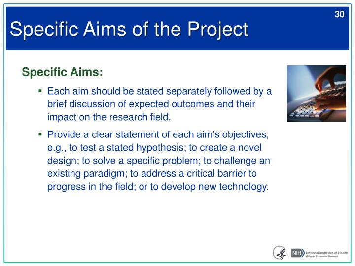 Specific Aims of the Project