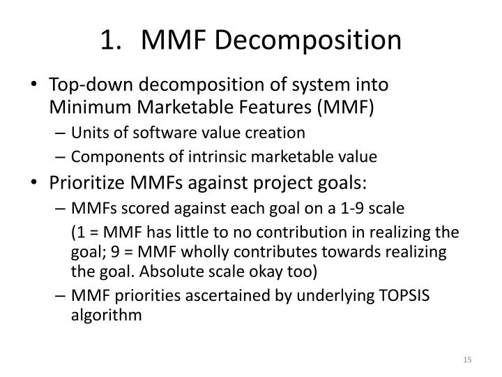 MMF Decomposition