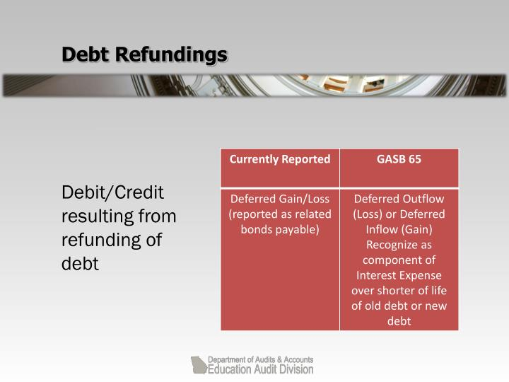 Debt Refundings