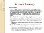 account summary1