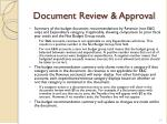 document review approval