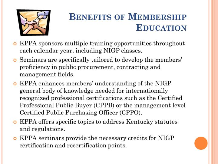 Benefits of Membership Education