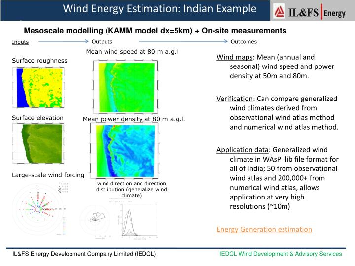 Wind Energy Estimation: Indian Example