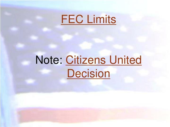 FEC Limits