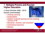 1 bologna process and russian higher education
