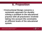 6 proposition