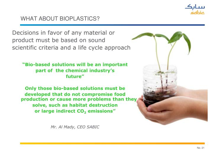 What about Bioplastics?
