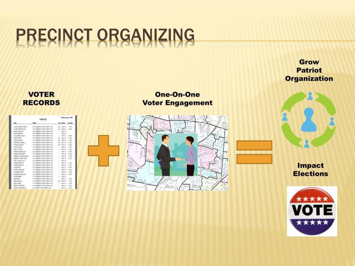 Precinct Organizing