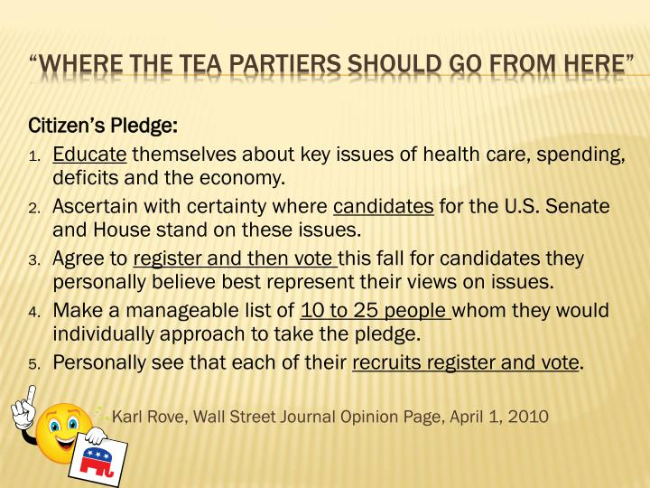 Citizen's Pledge: