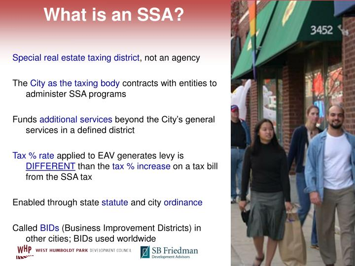 What is an SSA?