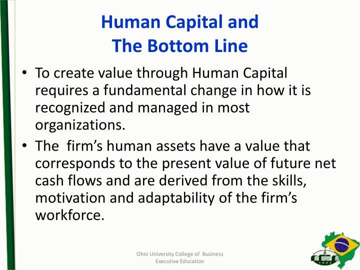 Human Capital and