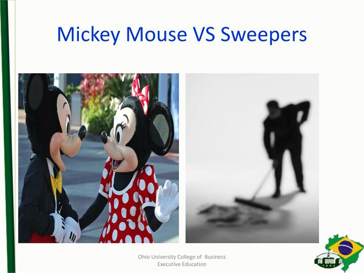 Mickey Mouse VS Sweepers
