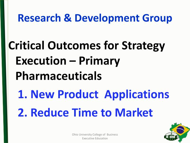 Research & Development Group