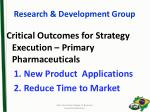 research development group