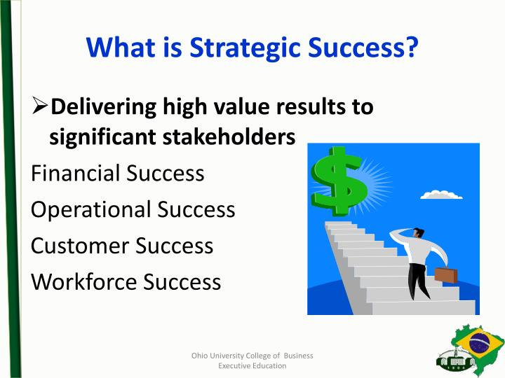 What is Strategic Success?