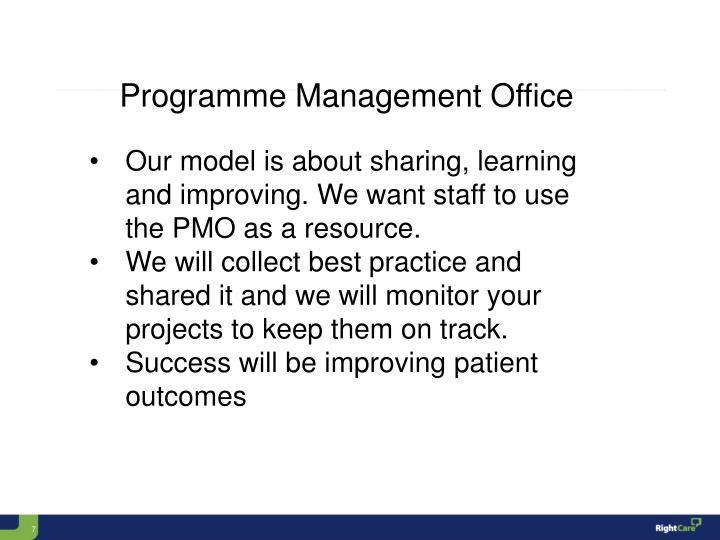 Programme Management Office
