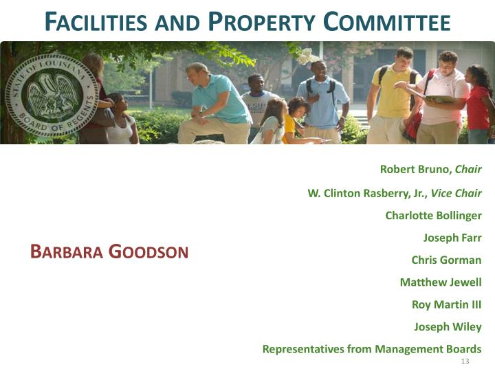 Facilities and Property Committee