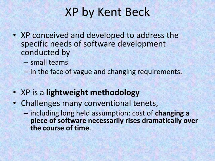 XP by Kent Beck