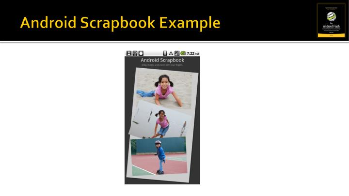 Android Scrapbook Example