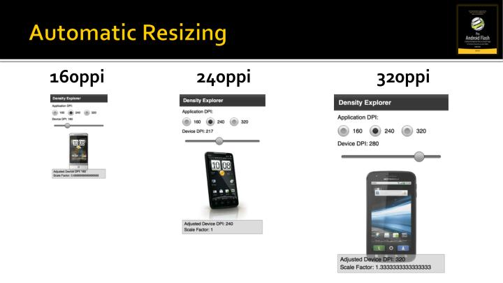Automatic Resizing
